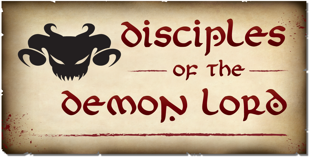 Diciples of the Demon Lord Logo